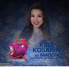 Kira korasain as Maddie
