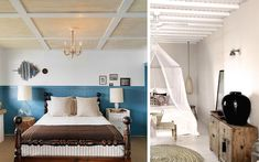 | Ideas para decorar dormitorios con techos diferentes