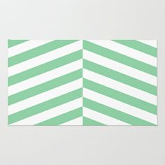 mint Area & Throw Rug by Amber Gilded - $28.00