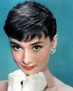 Audrey Hepburn's haircut was called a pixie cut in the 1950s, and looked much like the Twiggy cut that made Sassoon famous in the 1960s