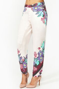 Electric Garden Pants