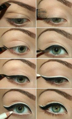 How to Use Eyeliners for Green Eyes | Makeup Tricks by Makeup Tutorials at makeuptutorials.c...