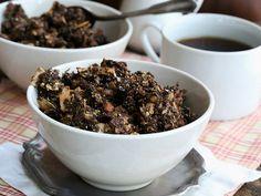 Low-Carb Chocolate & Orange Spiced Granola (keto, paleo) - recipe from the KetoDiet Cookbook