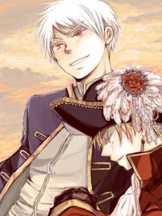 Prussia and England thats a lot of sexy awesomeness in one picture