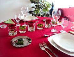 { Colocando a Mesa } ~ Colunas ~ Confraria das Noivas Decor mesa para jantar dos namorados!