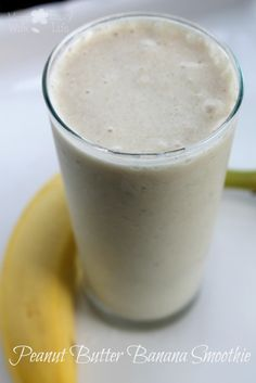 Love peanut butter? Love bananas? Mix them together and enjoy this great smoothie any time of the day!