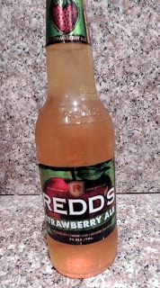 Eat Drink And Be Me: I love Redd's Strawberry Ale!  It really tastes like strawberries.