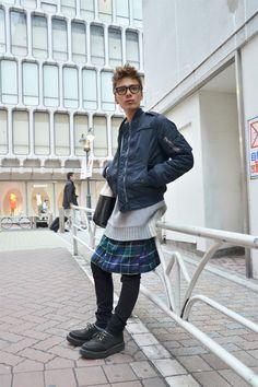 hey scott!   【STREET SNAP】SHINICHI | 「.RUBY」hunter | ストリートスナップ | 渋谷(東京) |