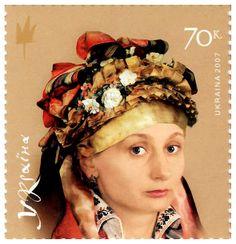 Украинский головной убор к народному костюму