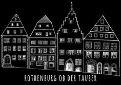 One of my best friends suggested me to create some illustrations from each city I visit along this year and this is the fist one. Last weekend we visited Rothemburg ob der Tauber and we love it. When you are inside you feel like in a fairy tale, it's so nice…Rothenburg ob der Tauber - pencil, ink and digital effectsMay 2015 - © Rocio P. Vigne