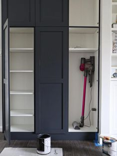"Get great pointers on ""laundry room storage diy cabinets"". Get great pointers on ""laundry room storage diy cabinets"". They are actually accessible for you Kitchen Pantry Design, Kitchen Pantry Cabinets, Ikea Cabinets, Diy Kitchen, Ikea Laundry Room Cabinets, Built In Cabinets, Diy Storage Cabinets, Mudroom Cabinets, Tall Cabinets"