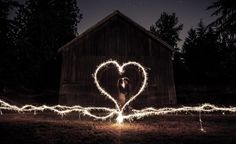 How to capture sparkler photos that brides will love!