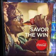 This Coca Cola Cooler Door Savor The NCAA Win lifestyle pitch hits a high sports note celebrating NCAA March Madness. Coca Cola Cooler, Cool Doors, Coffin, Basketball, Fun, Lol, Funny, Netball