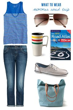 what to wear for a summer road trip (from The Sweetest Occasion)