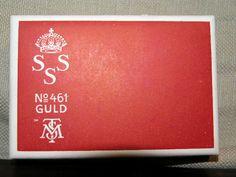 SSS No 461 Guld Tillverkat för Svenska Segelsällskapet - Svenska Tobaksmonopolet