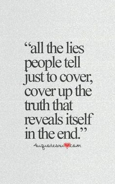 The truth is always revealed in the end! Crazy how God works, K & K!!!
