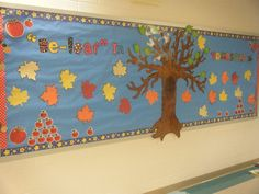 """My """"Be-Leaf in Yourself"""" fall board :)"""