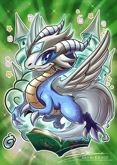 Toon Mystical Beast Dragon-Zokkun by Kraus-Illustration on DeviantArt
