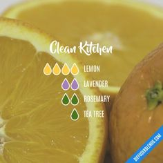 Clean Kitchen - Essential Oil Diffuser Blend