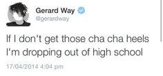 Best MCR Tweets //Gerard Way