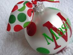 Personalized Christmas Ornaments | Jane