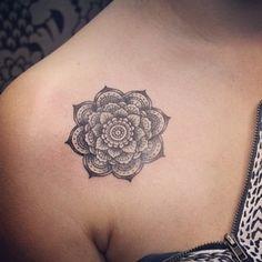 Little mandala tattoo, so cute! ☺️ #tattooinkspiration