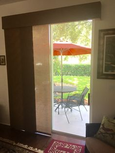 Sliding Panels for Patio Doors. Available in hundreds of fabrics from Budget Blinds Window Blinds, Blinds For Windows, Window Coverings, Window Treatments, Budget Blinds, Sliding Panels, Custom Windows, Window Styles, Patio Doors