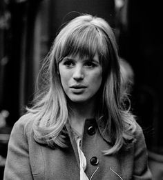 Marianne Faithfull photographed by Jean-Claude Deutsch At The Flea Market In Paris. . March 30, 1966. Paris Match