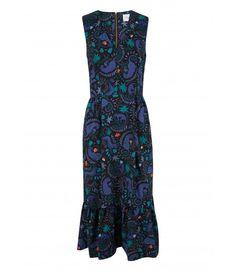 Closet Retro Frill Hem Dress - Dresses - Clothing