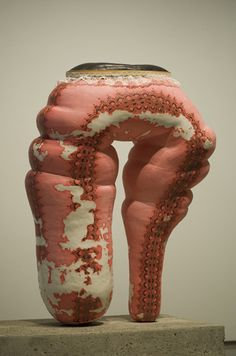"""Dear incomprehension, it's thanks to you I'll be myself, in the end.""  ― Samuel Beckett   -- ceramic by Julie Moon"