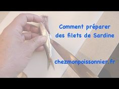 Préparation de filets de sardines - YouTube