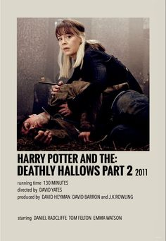 Minimalist/polaroid movie poster by me Harry Potter Movie Posters, Iconic Movie Posters, Harry Potter Icons, Harry Potter Images, Harry Potter Aesthetic, Harry Potter Cast, Deathly Hallows Part 2, Harry Potter Deathly Hallows, Modele Pixel Art