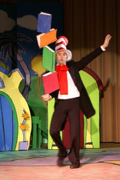 Seussical Spring Musical 2008 - some kind of Dr. Seuss activity to get the kids into it could be fun