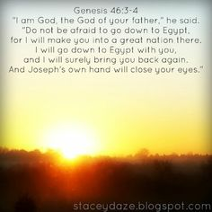 And God said.: fear of giving God your choice
