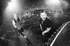 Zach Myers and Brent Smith (@HarryReesePhoto) #ZachMyers #BrentSmith #Shinedown   via Instagram http://ift.tt/2cZBgab  Shinedown Zach Myers