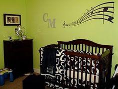 Our musical nursery...I still love it!