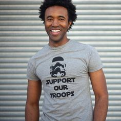 Support the Troops Tee Men's, £15, now featured on Fab.