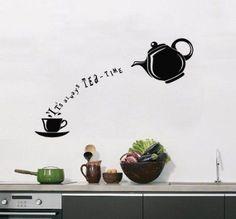 A tea-time tea-cal.