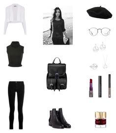 """""""Work Outfit #107"""" by cherryflame14 ❤ liked on Polyvore featuring Sportmax, Brandon Maxwell, J Brand, 3.1 Phillip Lim, Goorin, Ray-Ban, Urban Decay, Smith & Cult and Aspinal of London"""