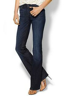 7 For All Mankind Mid Rise Bootcut Jeans | Piperlime