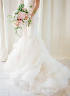 Ruffles: http://www.stylemepretty.com/2014/10/14/soft-romantic-summer-winery-wedding/ | Photography: KT Merry Photography - http://ktmerry.com/