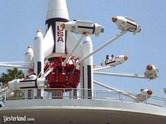 The Original ROCKET JETS of Tomorrowland, Magic Kingdom, Walt Disney World