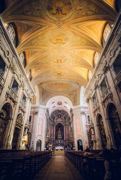 Graça church in Lisbon, Portugal by Zanthia- will be amazing to walk down this aisle for the second ceremony