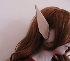 Easy tutorial on how to make Elf Ears