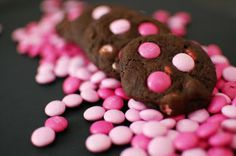 Chocolate M Cookies for Power of Pink Challenge | Beantown Baker ... adventures in a Boston kitchen