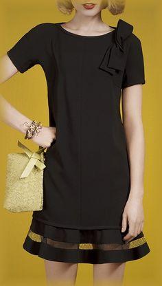 Paule Ka satin-backed crepe and mesh dress, 2014
