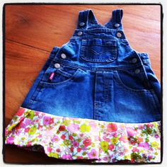 Too bad my kids won't wear denim, even if I embellish it.