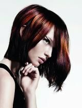 Dare to experiment with any of these new hair color trends and techniques and find out which of them looks perfect on your tresses and works great with your Carmel Hair Color, Hair Color Auburn, Ombre Hair Color, Hair Colors, Colorful Highlights In Brown Hair, Hair Color Highlights, Colorful Hair, Try On Hairstyles, Straight Hairstyles