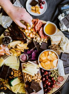 How to put together the Ultimate Father's Day Snack board and how to turn it into a gift package to show the most important men in your life you love them :)
