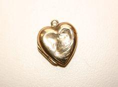 Vintage 9ct Gold Back & Front Heart Locket by GillardAndMay